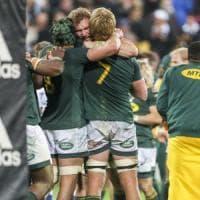Rugby, Championship: impresa Sudafrica in Nuova Zelanda, cade imbattibilità All Blacks