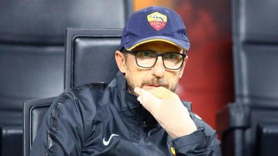"""Roma, Di Francesco: """"Devo ridare più certezze, c'è tempo per recuperare"""""""