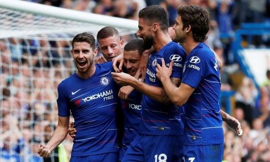 Inghilterra: il Liverpool batte il Tottenham, anche il Chelsea a punteggio pieno. Si ferma il Watford