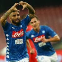 Napoli-Fiorentina 1-0: Insigne rilancia gli azzurri, primo ko viola