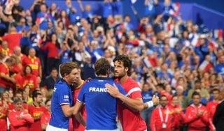 Tennis, Coppa Davis: Francia in finale, doppio Usa rinvia la festa della Croazia