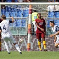 Roma-Chievo 2-2, Birsa e Stepinski riprendono i giallorossi