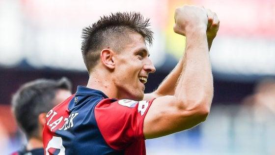 Genoa-Bologna 1-0, Piatek ancora decisivo