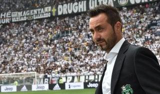 """Sassuolo, De Zerbi: """"Contento per la nostra prova"""""""