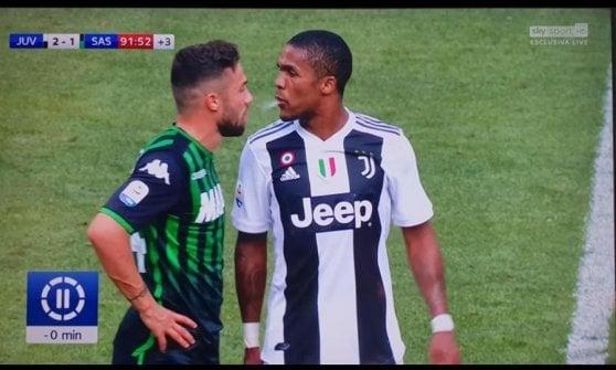"""Juventus, Ronaldo: """"Il gol? Ero un po' ansioso"""". Allegri su Douglas Costa: """"È stato provocato, ma non va bene"""""""