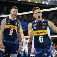 Gli azzurri del volley volano in tv: sono secondi solo a Baglioni