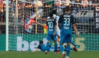 Empoli-Lazio 0-1: Parolo segna, Strakosha para