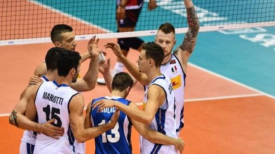 Volley, Mondiali: l'Italia cala il poker. La Repubblica Dominicana è battuta 3-0