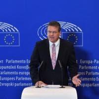 Commissione Ue, Sefcovic candidato dei Socialisti e Democratici