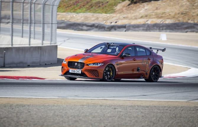 Nuovo Jaguar XE SV Project 8, è di nuovo record