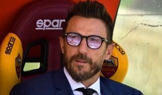 """Roma, Di Francesco sulla graticola. Totti predica fiducia: """"A Madrid possiamo far bene"""""""