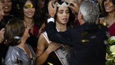 L'incoronazionedella vincitrice Carlotta Maggiorana