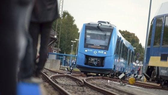 In Germania il primo treno al mondo a idrogeno, zero emissioni