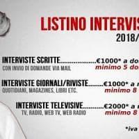 """M5S, la provocazione di Grillo: """"Ecco il tariffario per intervistarmi"""""""