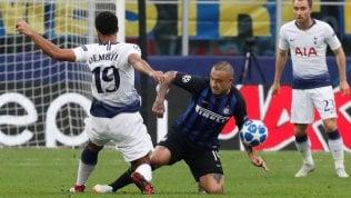 Champions al via,Inter-Tottenham 0-1La gara in diretta
