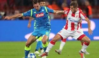 Stella Rossa-Napoli 0-0, mezzo passo falso e rimpianti per gli azzurri