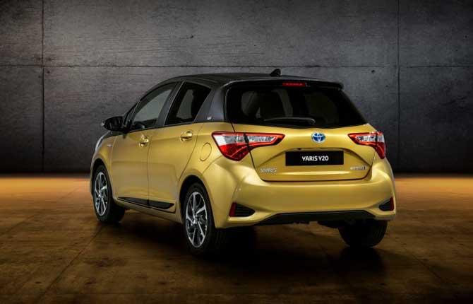 Toyota festeggia i venti anni della Yaris