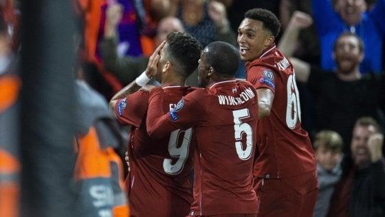 Messi trascina il Barcellona, Liverpool piega Psg all'ultimo respiro