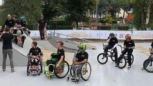 Sempre meno barriere nelle città: a Roma lo skate park per tutti