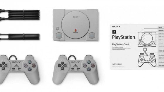 Sony, passione retrogaming: una PlayStation Classic per Natale