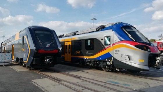 Ferrovie, arrivano Pop e Rock: ecco i nuovi treni per i pendolari con Wi-fi e spazio per le bici