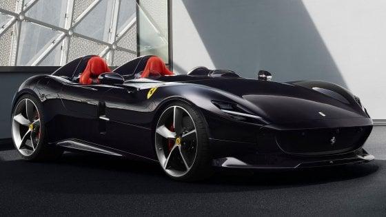 La Ferrari Monza Sp2 presentata ieri dal gruppo di Maranello