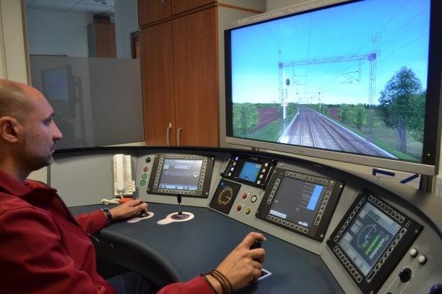 Il simulatore di Italo: così i macchinisti si esercitano sulle linee ferroviarie virtuali