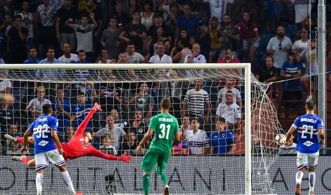 Sampdoria-Fiorentina 1-1: Caprari replica a Simeone in una gara spettacolo