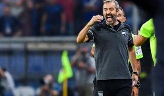 """Sampdoria, Giampaolo: """"Buon pareggio. Quagliarella? Se fa così mi arrabbio"""""""