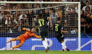 Valencia-Juventus 0-2: espulso Ronaldo, ma bianconeri restano super