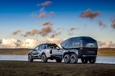 Navara Dark Sky Concept, il Pick Up che guarda le stelle