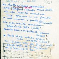I manoscritti di Francesco Guccini