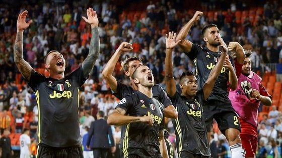 Valencia Juventus diretta streaming, dove vederla in tv gratis