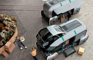 Renault EZ-PRO, il robot che consegna i pacchi