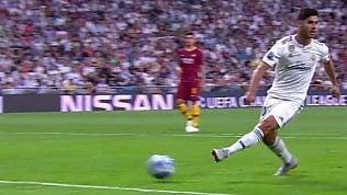 Il no-look irriverente di Asensio:così sfuma l'azione capolavoro