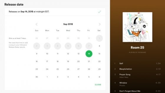 Spotify, gli artisti potranno caricare la propria musica da soli