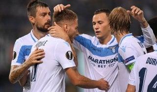 Lazio-Apollon 2-1, Luis Alberto e Immobile firmano la prima in Europa