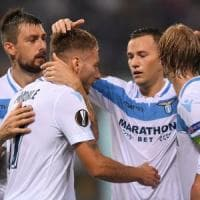 Lazio-Apollon 2-1, Luis Alberto e Immobile firmano la prima in Europa