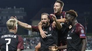 Milan nel segno di Higuain.Battuto il Dudelange 1-0