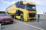 Mercedes-Benz Trucks, così si evitano gli incidenti
