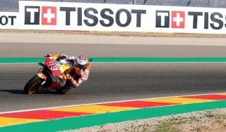 MotoGp, Aragona: Marquez alza la voce nelle libere. Poi le Ducati, Rossi dietro