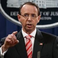 Usa, il viceministero della Giustizia Rosenstein propose d'intercettare