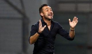 """Sassuolo, De Zerbi: """"Secondo posto? Proveremo a difenderlo, ma non è la nostra dimensione"""""""