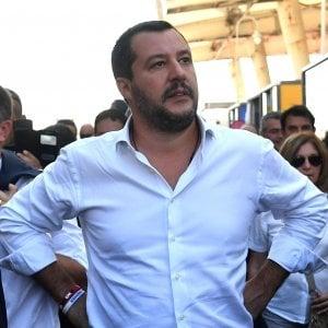 """Centrodestra, Salvini: """"Non vado con Berlusconi: solo accordi locali"""". Poi attacca la Raggi: """"Poteva fare di più"""""""