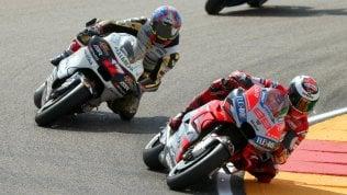 Aragon, Ducati davanti a tutti:pole Lorenzo, Dovizioso secondo