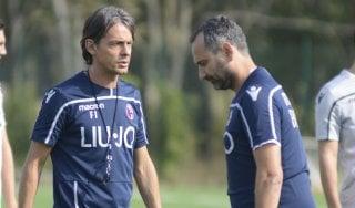 """Bologna, Inzaghi: """"Contro la Roma servirà la partita perfetta"""""""