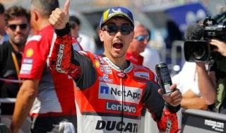 MotoGp, Aragon: pole di Lorenzo davanti a Dovizioso, Marquez è terzo