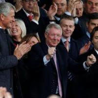 Manchester United, Ferguson torna a Old Trafford: ''Bello esserci ancora''
