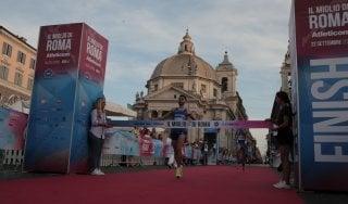 Atletica, podio tutto azzurro al Miglio di Roma: vince Zoglami, solo quarto il favorito Lewandowski