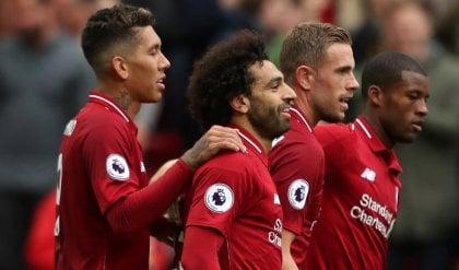 Il Liverpool non conosce ostacoli Il City dà spettacolo, pari United